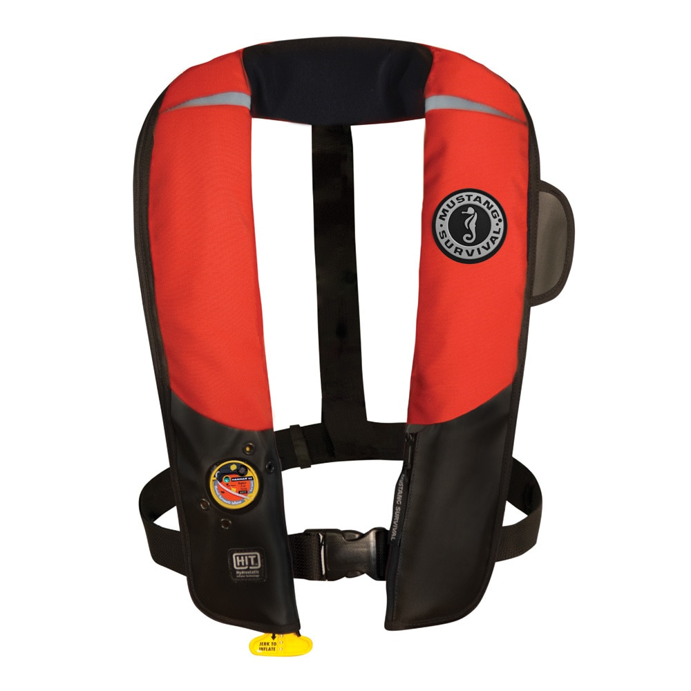 Mustang HIT Inflatable Automatic PFD - Red/Black - MD3183/02-RD/BK
