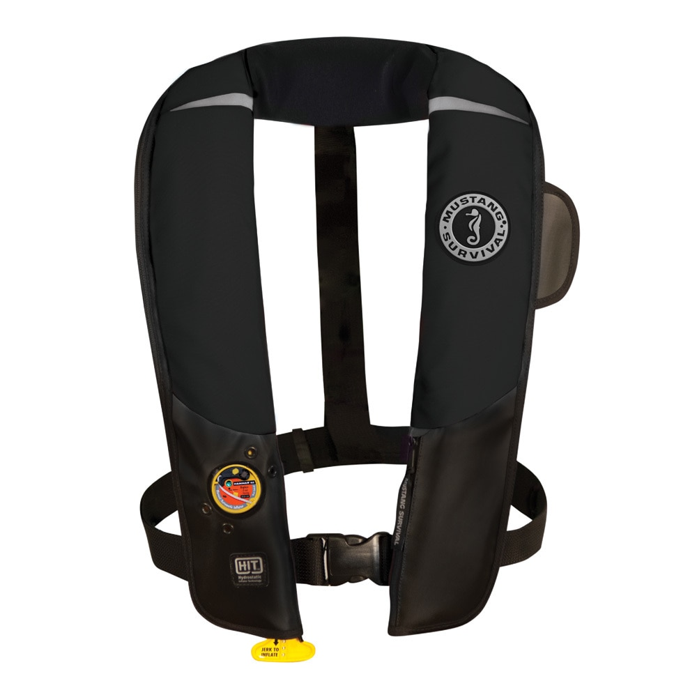 Mustang HIT Inflatable Automatic PFD - Black - MD3183/02-BK