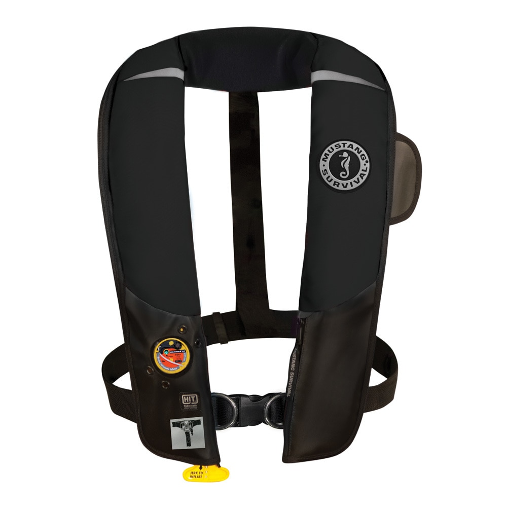 Mustang HIT Inflatable Automatic PFD with Harness - Black - MD3184/02-BK