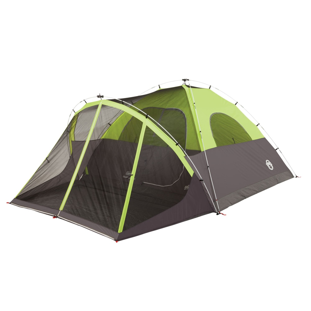 Coleman Steel Creek Fast Pitch Screened Dome Tent - 6 Person - 2000018059