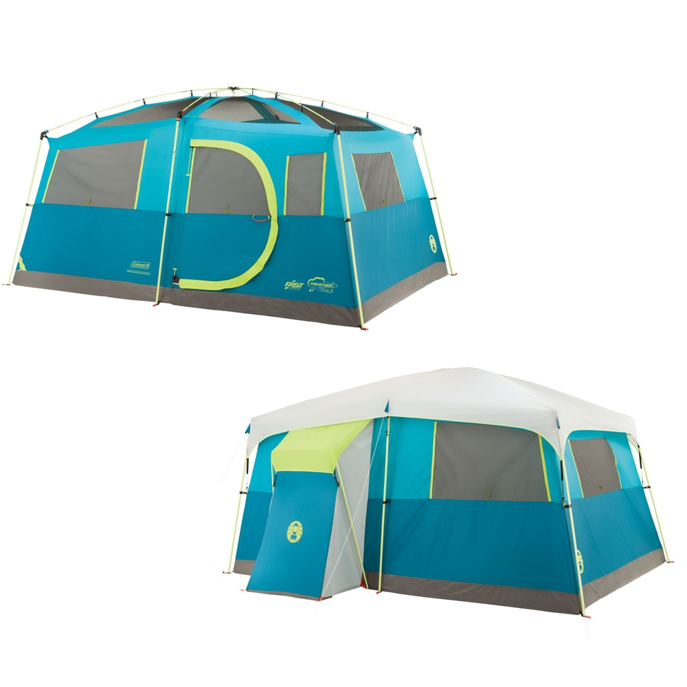Coleman Tenaya Lake Fast Pitch Cabin with Closet - 8 Person - 2000018088