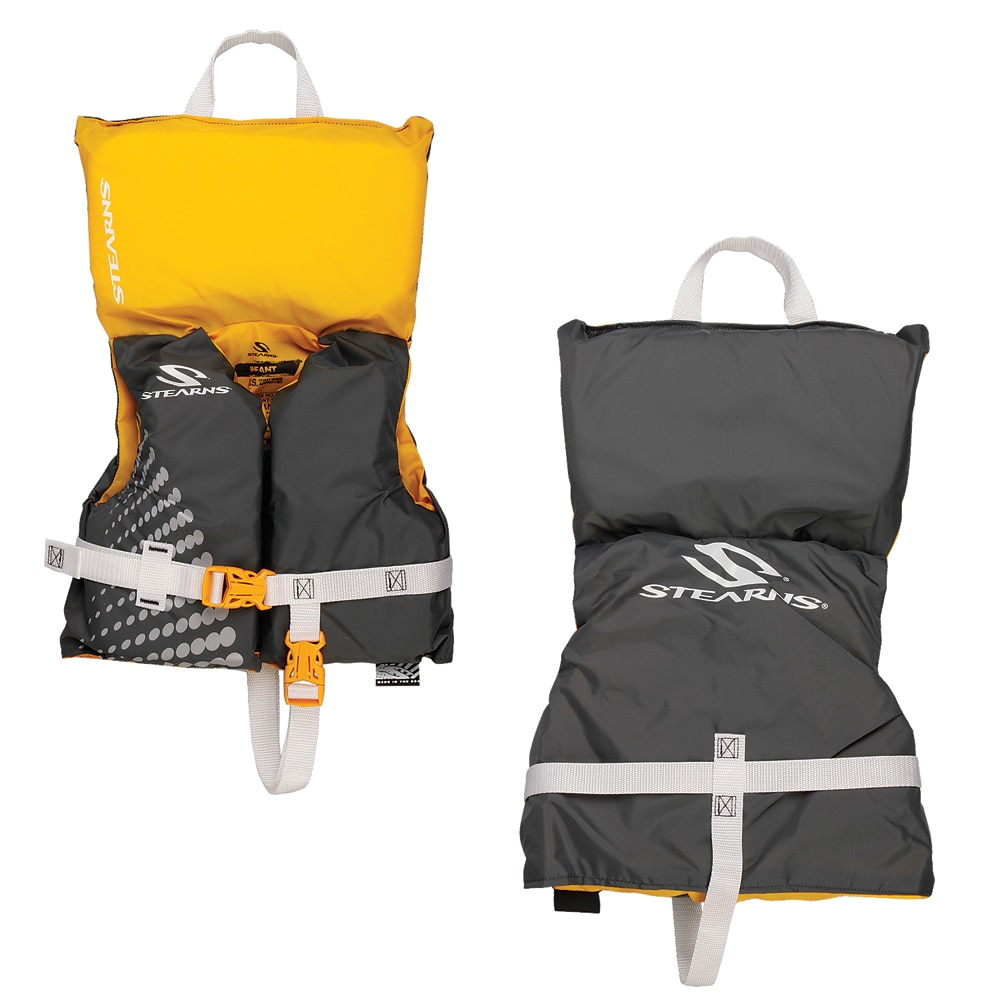 Stearns Infant Classic Nylon Vest Life jacket - Up to 30lbs - Gold Rush - 3000002194
