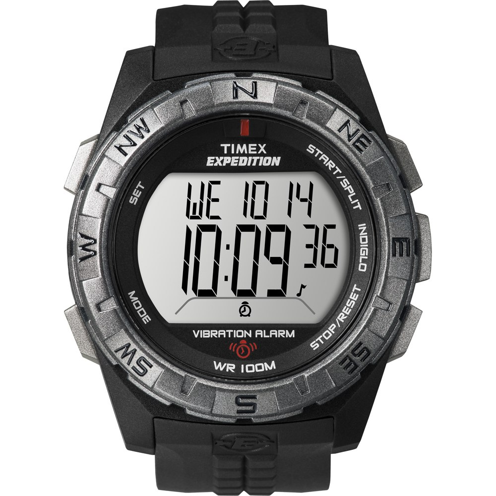 Timex Expedition Vibrate Alert Watch - Full Size - Black - T49851