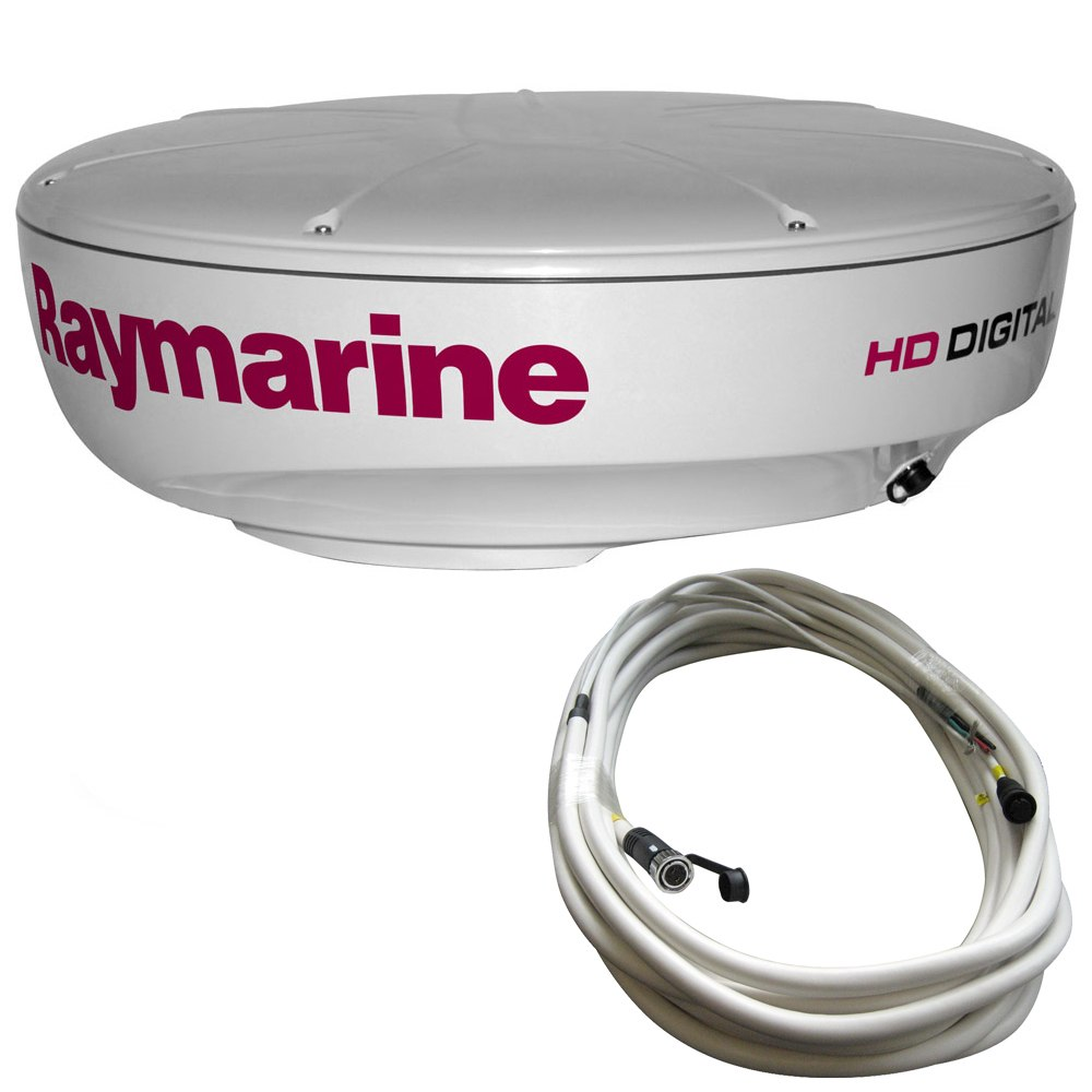 Raymarine RD424HD 4kW Digital Radar Dome w/10M Cable - T70169