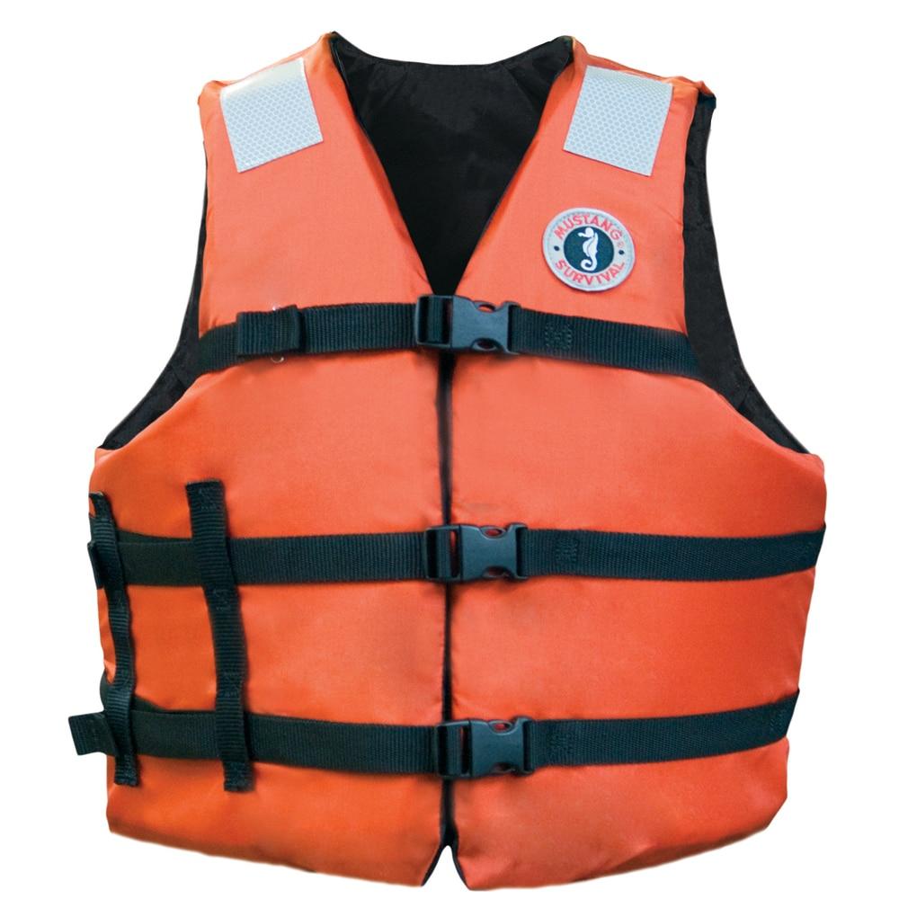 Adult strap vest w #8