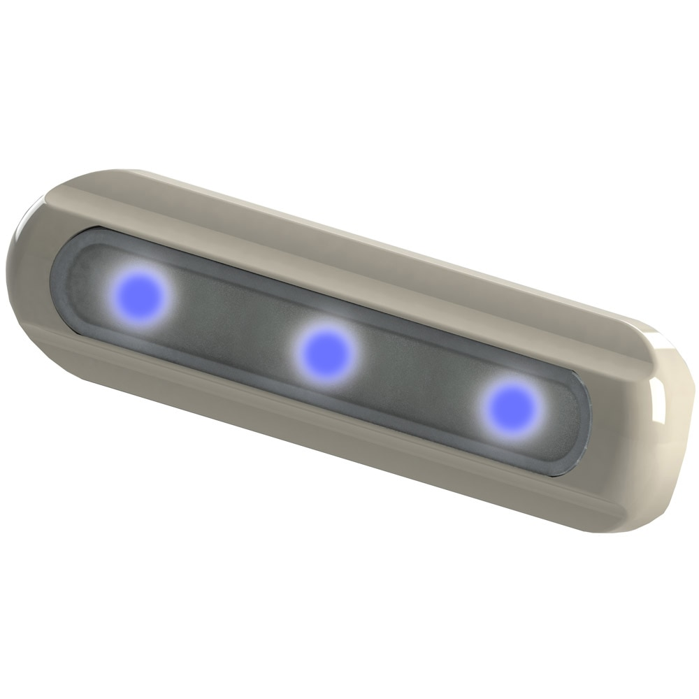 TACO LED Deck Light - Flat Mount - Blue LEDs - F38-8500B-1