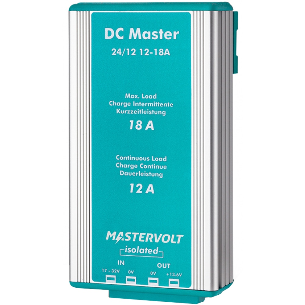 Mastervolt DC Master 24V to 12V Converter - 12A with Isolator - 81500300