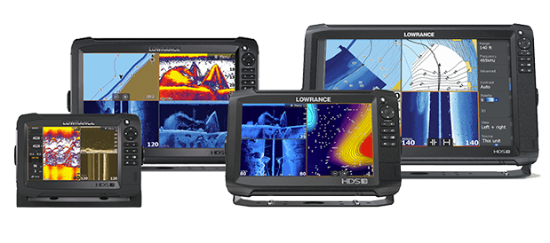 Lowrance HDS Live Displays