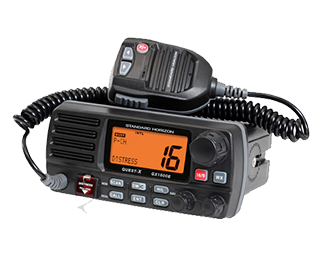 Standard Horizon Marine VHF Fixed Mount and Handheld Radios