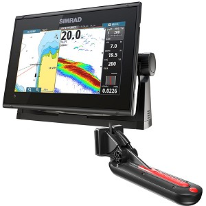 Simrad GO9 XSE Chartplotter/Fishfinder with TotalScan Transducer - 000-13212-001
