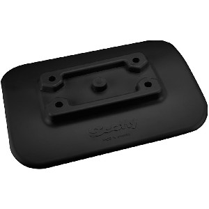 Scotty 341-BK Glue-On Mount Pad f/Inflatable Boats - Black - 341-BK