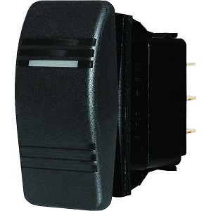 Blue Sea 8282 Water Resistant Contura Switch - Black