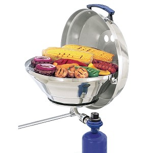 "Magma Marine Kettle Gas Grill Original 15"" with Hinged Lid - A10-205"