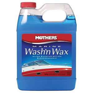 Mothers Marine Wash'n Wax Liquid Soap - 32oz - 91532