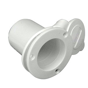 ProMariner Universal AC Plug Holder - White - 51203