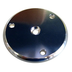 Wahoo 109 Backing Plate w/Gasket - Anodized Aluminum - 109