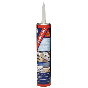 Sika Sikaflex 291 Fast Cure Adhesive & Sealant 10.3oz(300ml) Cartridge - White - 90919