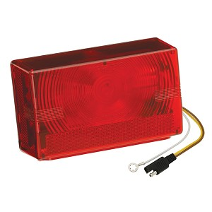 "Wesbar Submersible Over 80"" Taillight - Left/Roadside - 403025"
