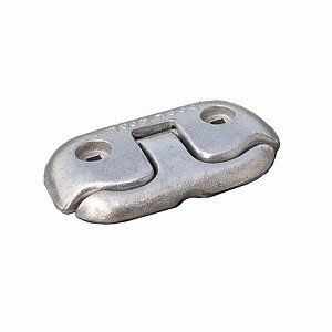 "Dock Edge Flip Up Dock Cleat 6"" - Polished - 2606P-F"
