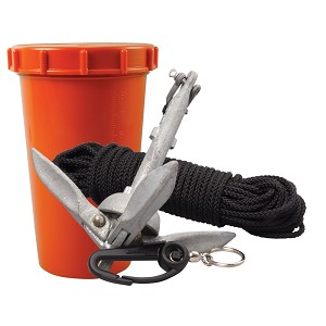 Scotty Anchor Kit - 1.5lbs Anchor & 50' Nylon Line - 797
