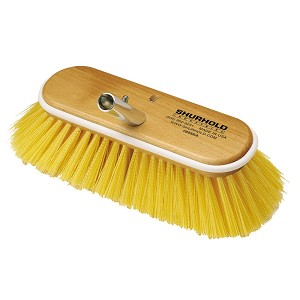 "Shurhold 10"" Polystyrene Medium Bristle Deck Brush - 985"