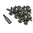 "Dock Edge Stainless Steel Profile Fasteners 100 PCS 1"" - 1006-F"