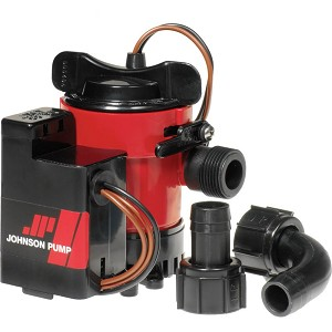 "Johnson Pump 500GPH Auto Bilge Pump 3/4"" 12V Mag Switch - 05503-00"