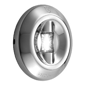 Attwood LED 3-Mile Transom Light - Round - 6556-7