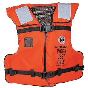 Mustang Work Vest w/ Solas Tape - MV3192