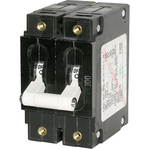 BLUE SEA 7365 CIRCUIT BREAKER CA2 30A WHT