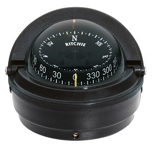 Ritchie S-87 Voyager Surface Mount Compass (Black) - S-87