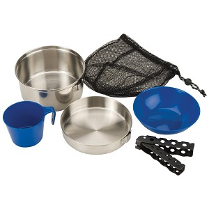 Coleman 1 Person Mess Kit - Stainless Steel - 2000015180