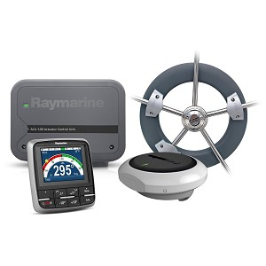 Raymarine EV-100 Wheel Evolution Autopilot (for Sail Boats) - T70152