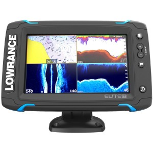 Lowrance Elite-7 Ti Touch Combo  Chartplotter/Fishfinder - No Transducer - 000-12416-001