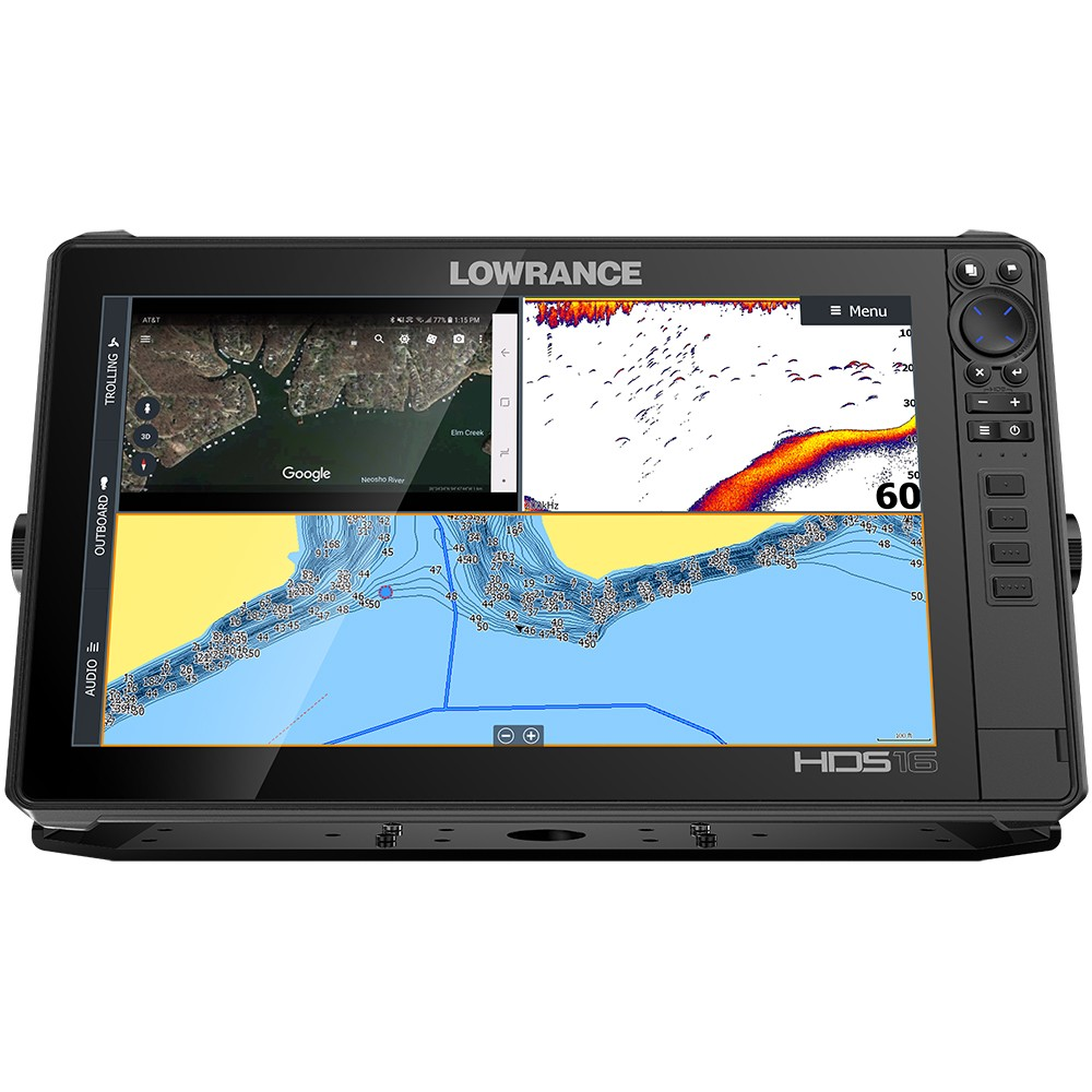 lowrance hds-16 live no transducer with c-map pro chart - 000-14433-001 |  anchor express