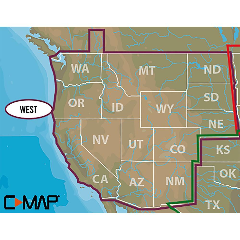 Lowrance C-MAP Lake Insight HD West US - 000-13727-001
