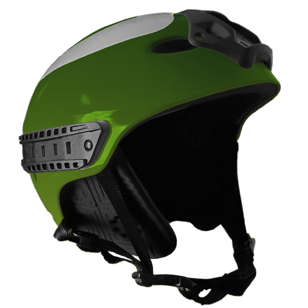 First Watch First Responder Water Helmet - Small/Medium - Green - FWBH-GN-S/M