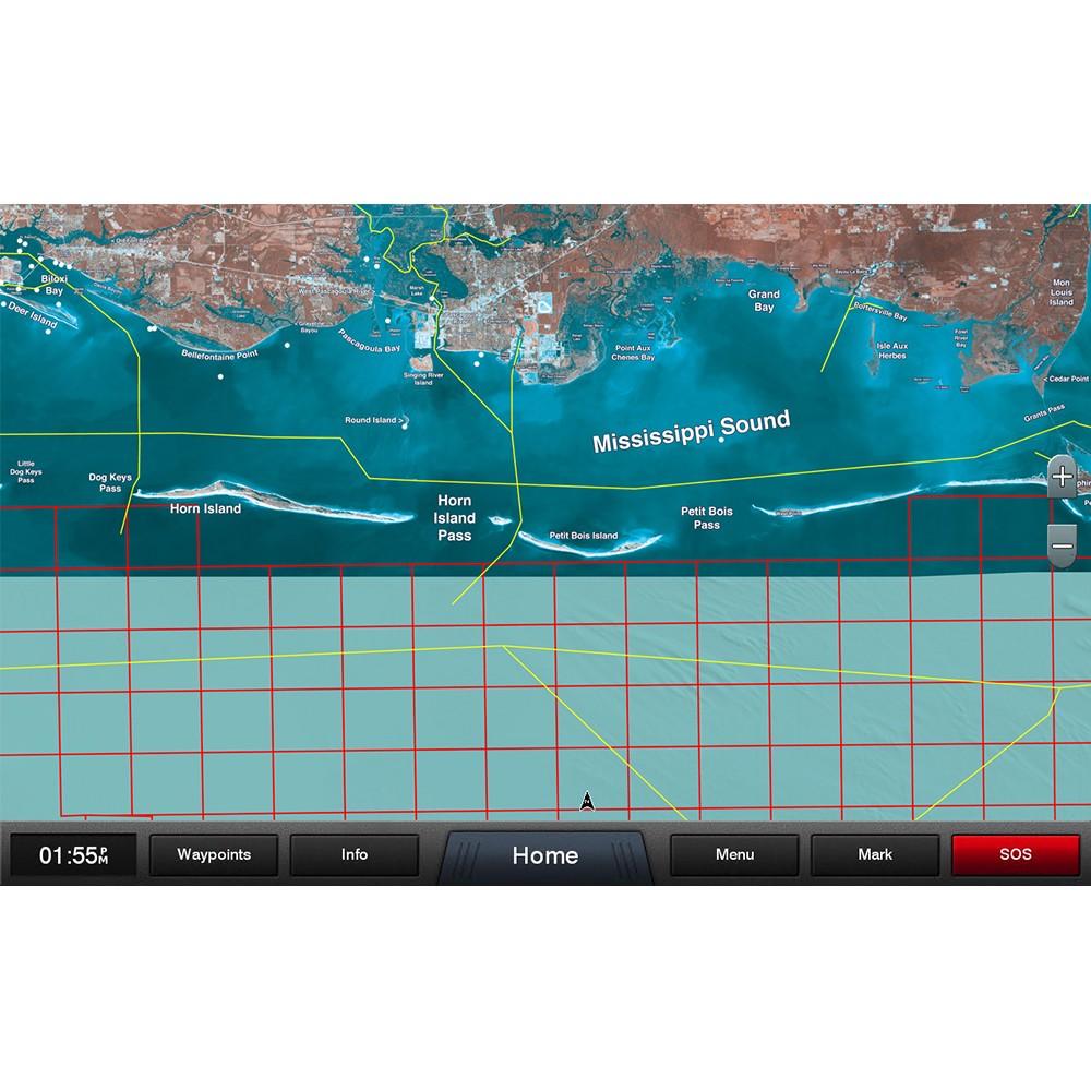 Garmin Standard Mapping - Mississippi Sound Professional microSD/SD Card -  010-C1185-00